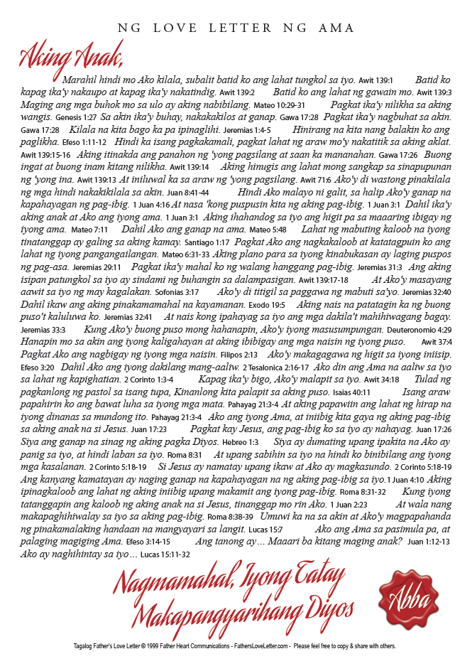 tagalog fathers love letter a4 pdf right click to download left click to view online